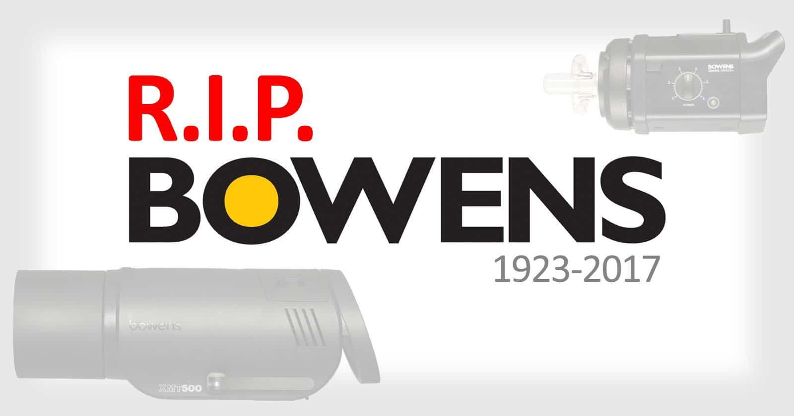Bowens gir seg etter 94 år - Nybrott Media
