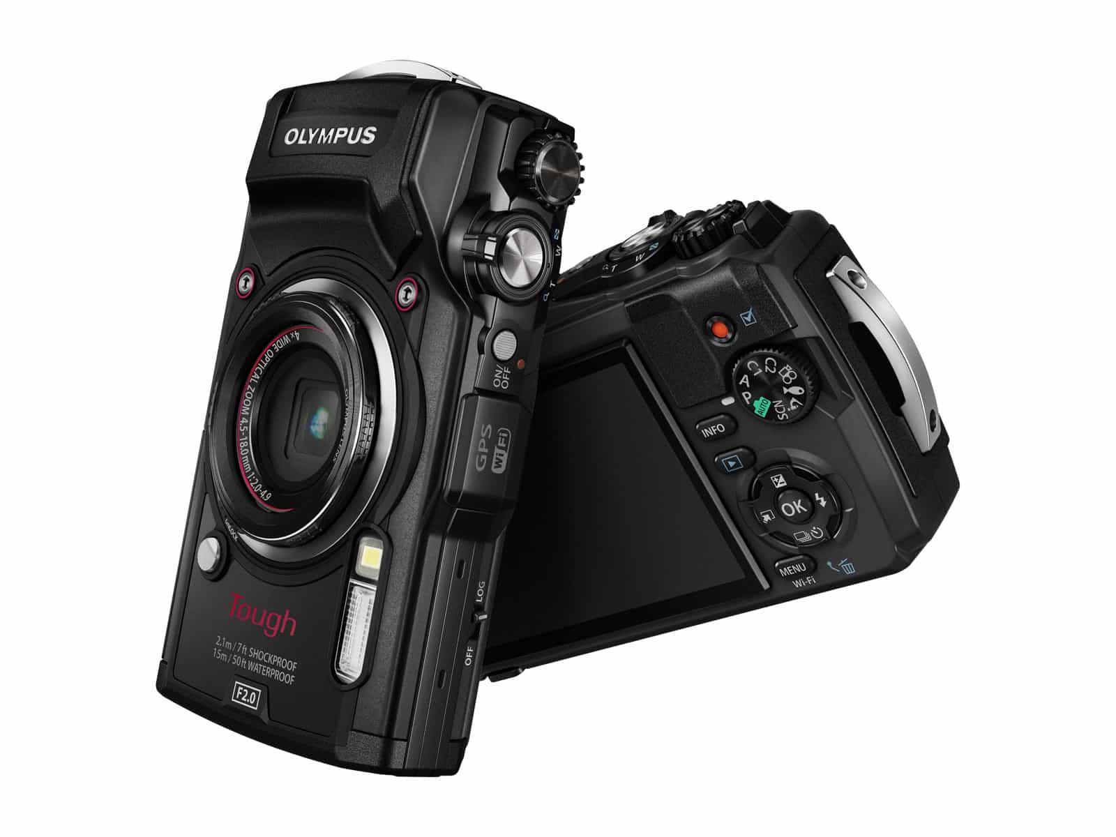 Olympus TG-5 sort - Nybrott Media AS