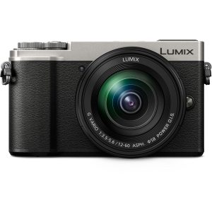 Panasonic Lumix GX9 Sølv - Front