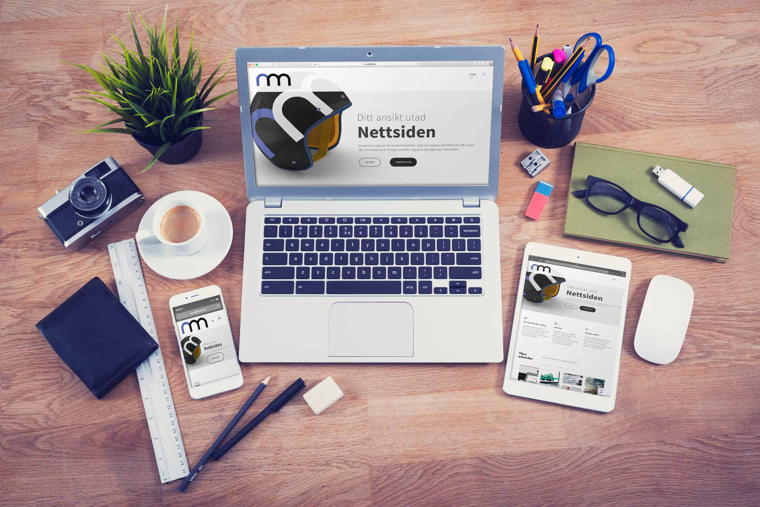 Nettsider - Nybrott Media AS