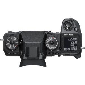Fujifilm X-H1 - Ovenfra