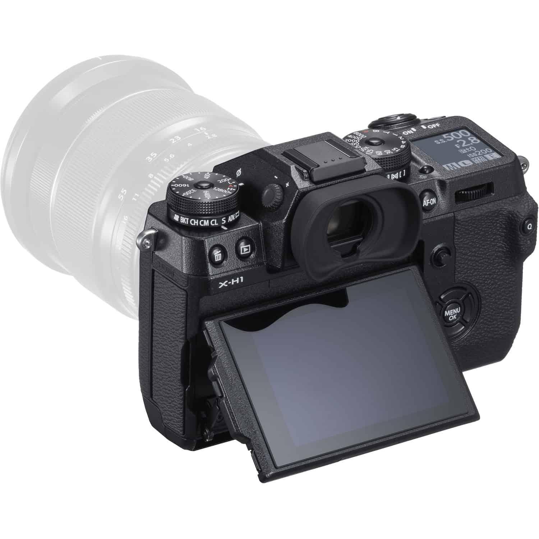 Fujifilm X-H1 - Flippskjerm